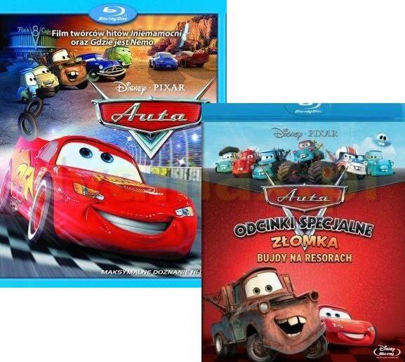 Auta / Bujdy na resorach odcinki specjalne Złomka (Disney) Pakiet [2Blu-Ray]
