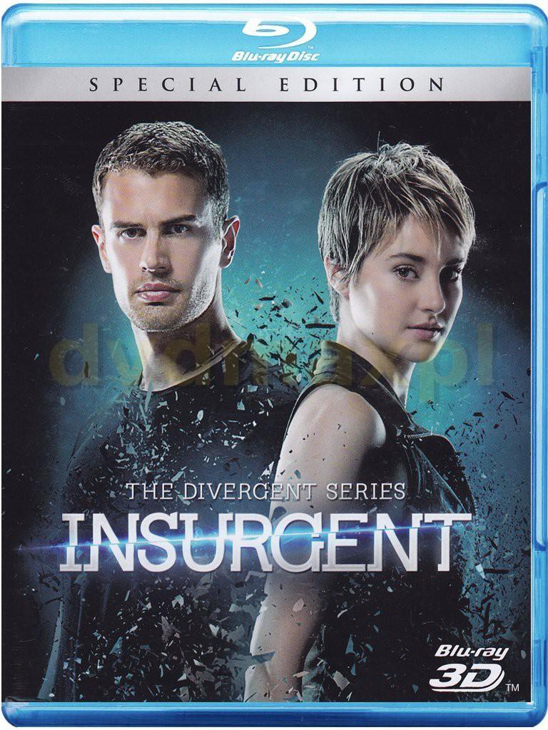 Insurgent (Special Edition) (Zbuntowana) [Blu-Ray 3D]+[Blu-Ray]