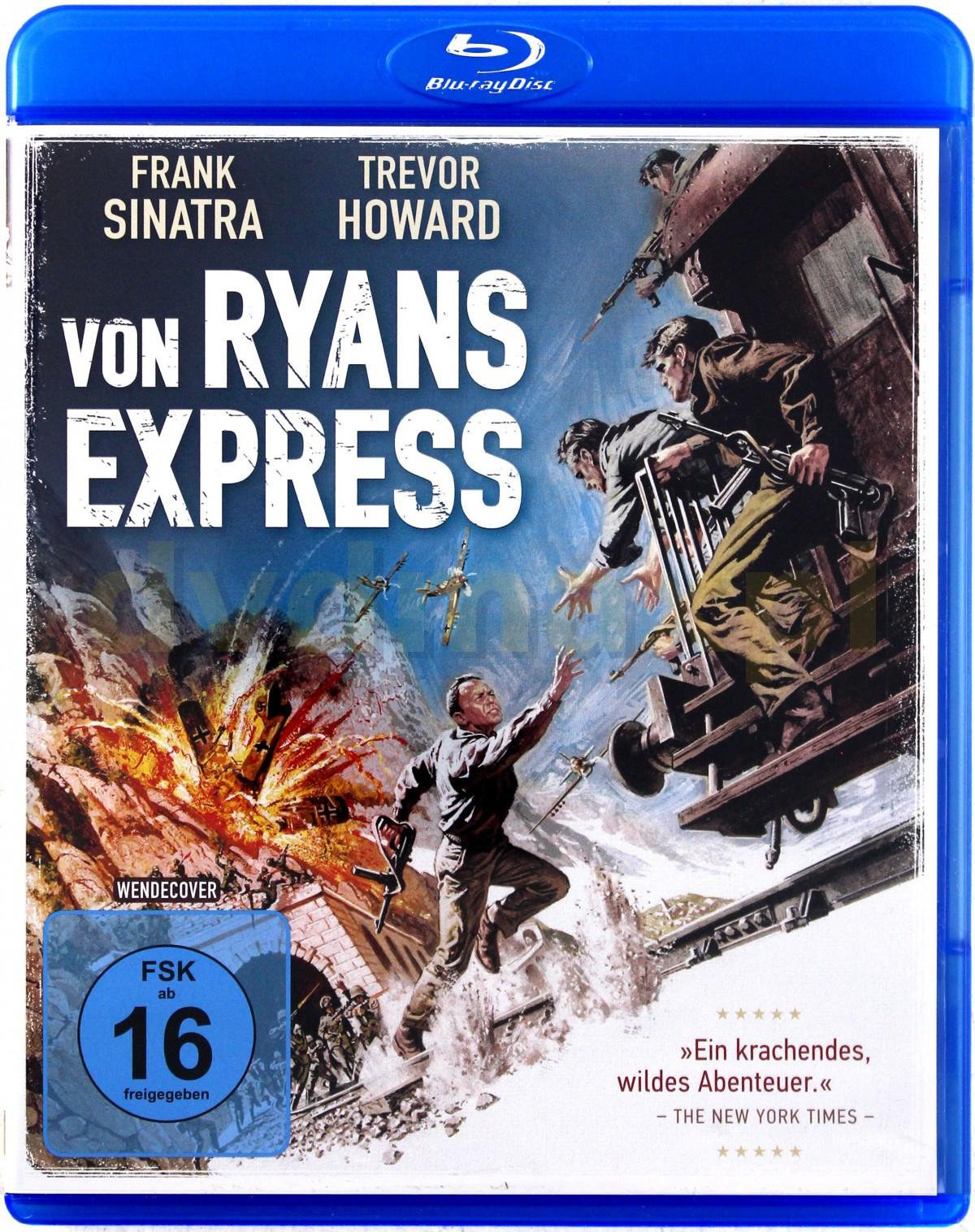 Von Ryan's Express (Ekspres Von Ryana) [Blu-Ray]