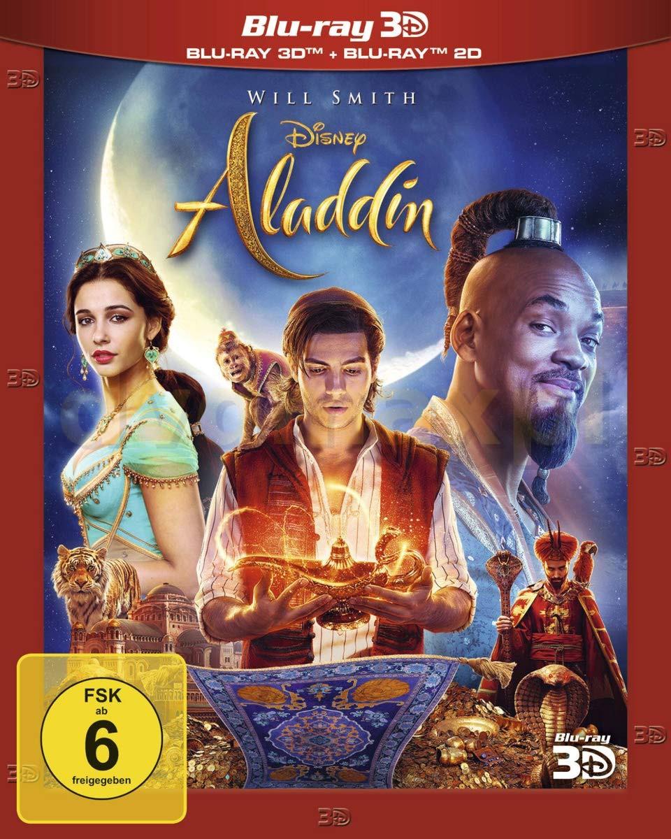 Aladdin (Aladyn) [Blu-Ray 3D]+[Blu-Ray]
