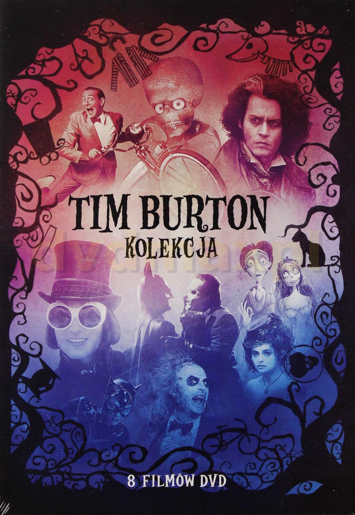 Tim Burton - kolekcja 8-miu filmów