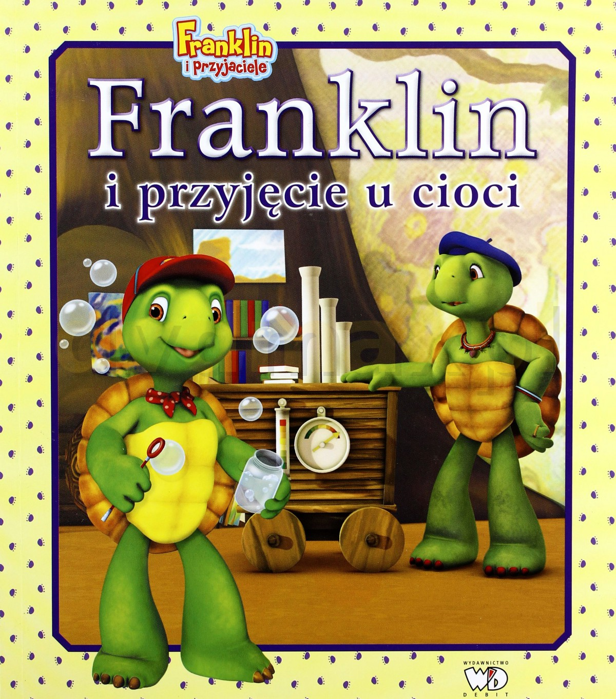 Franklin I Przyjęcie U Cioci [KSIĄŻKA] - brak