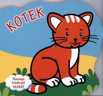 Kotek Dlaczego Trzeba Pić Mleko? (twarda) - Urszula Kozłowska [KSIĄŻKA] - Urszula Kozłowska