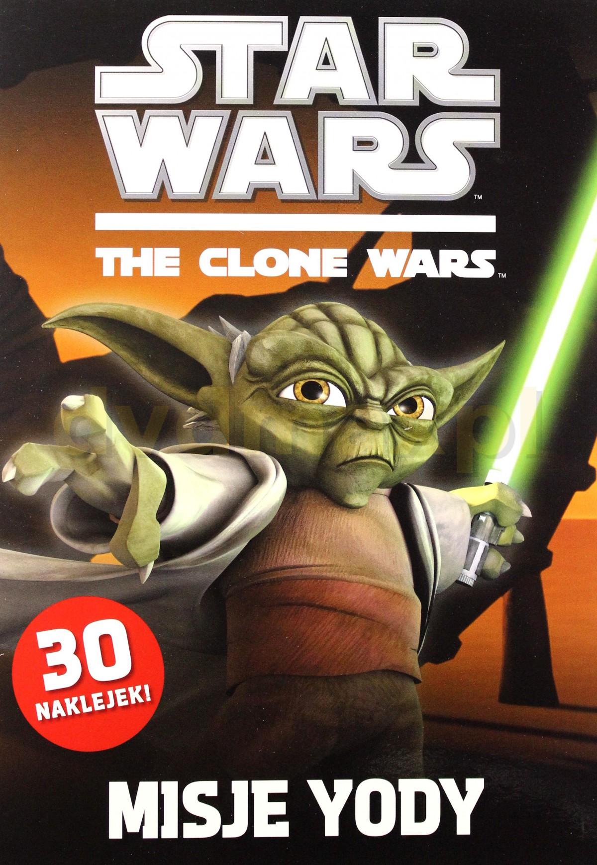 Gwiezdne Wojny: The Clone Wars ? Misje Yody (Star Wars) [KSIĄŻKA] - brak