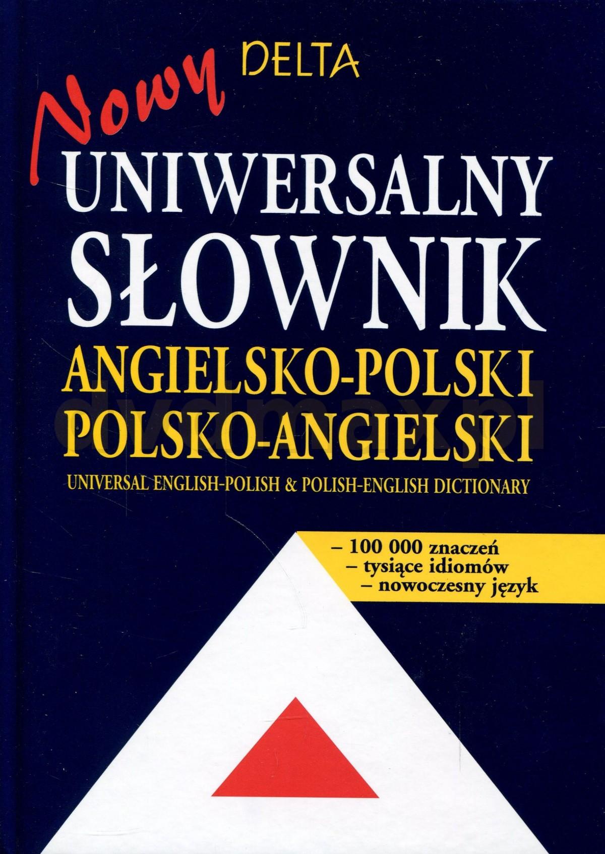 Uniwersalny słownik angielsko-polski, polsko-angielski - NOWY - Maria Szkutnik [KSIĄŻKA] - Maria Szkutnik