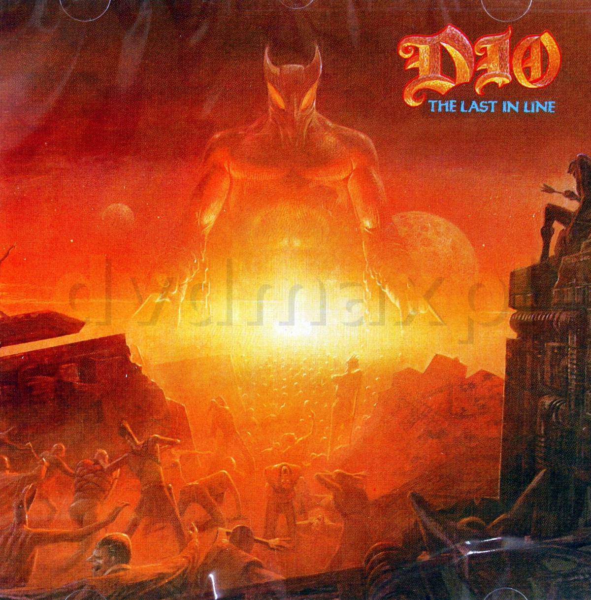 inthelast_dio: the last in line [cd]
