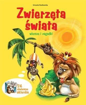 Zwierzęta Świata Wiersze I Zagadki Tw - Urszula Kozłowska [KSIĄŻKA] - Urszula Kozłowska