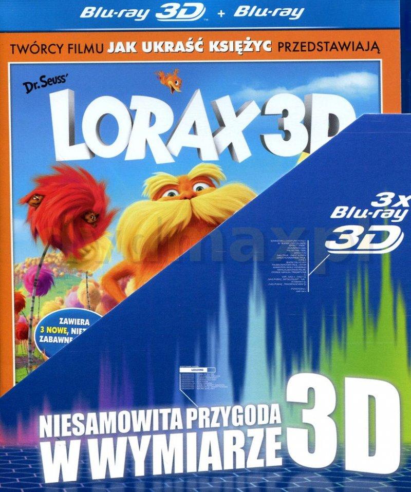 Lorax 3D / Jak ukraść księżyc 3D / Koralina i tajemnicze drzwi 3D