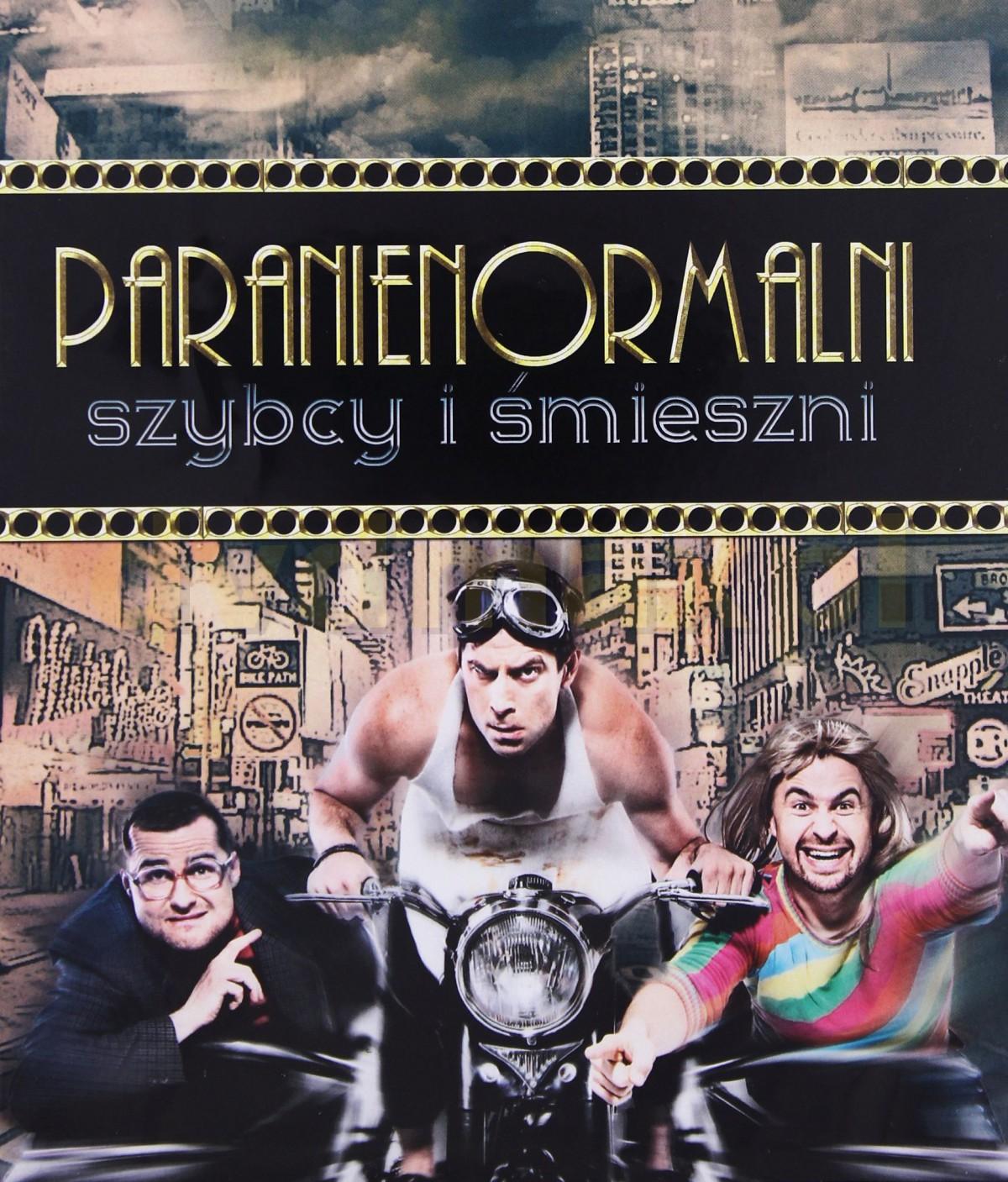 Kabaret Paranienormalni: Szybcy I Śmieszni [Blu-Ray]