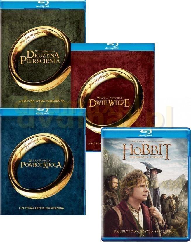 Władca Pierścieni Trylogia + Hobbit