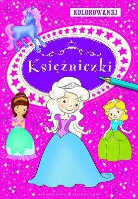 Kolorowanki. Księżniczki - Agnieszka Sobich [KSIĄŻKA] - Agnieszka Sobich