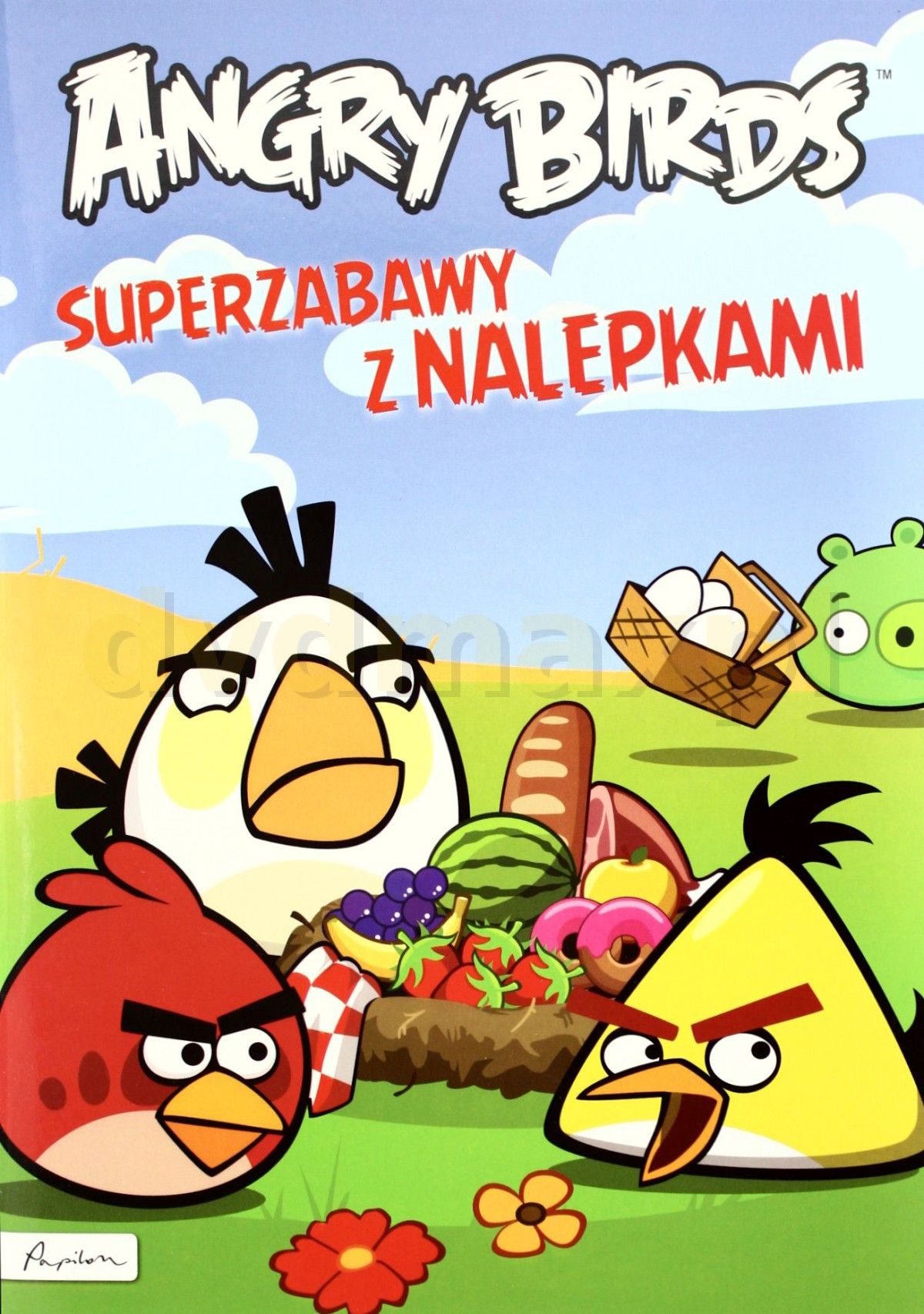 Angry Birds Superzabawy Z Nalepkami [KSIĄŻKA] - brak