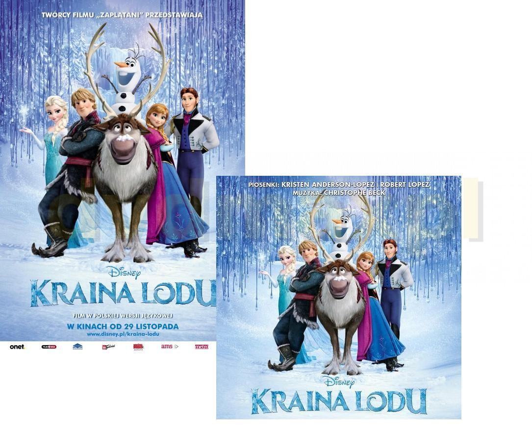 Kraina lodu (Disney) Pakiet [Blu-Ray]+[CD]