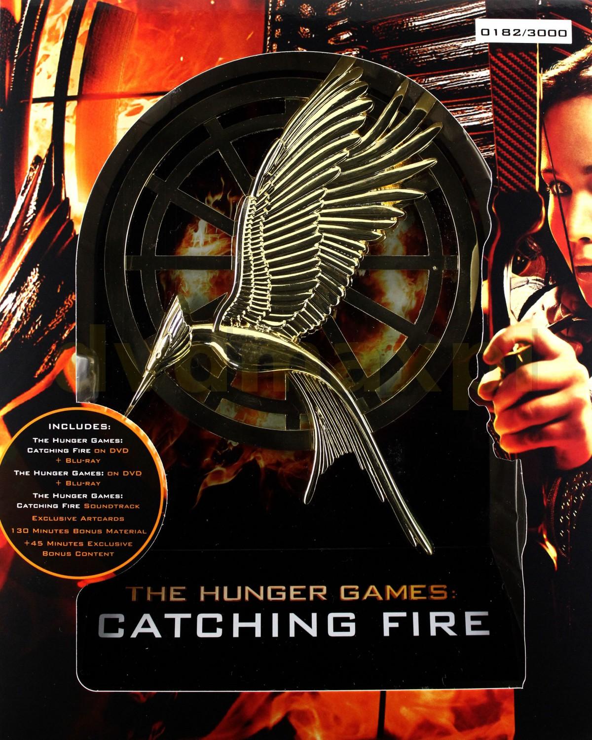 The Hunger Games: Catching Fire (Igrzyska śmierci: W Pierścieniu Ognia) (Deluxe Edition) [EN] [6Blu-ray]