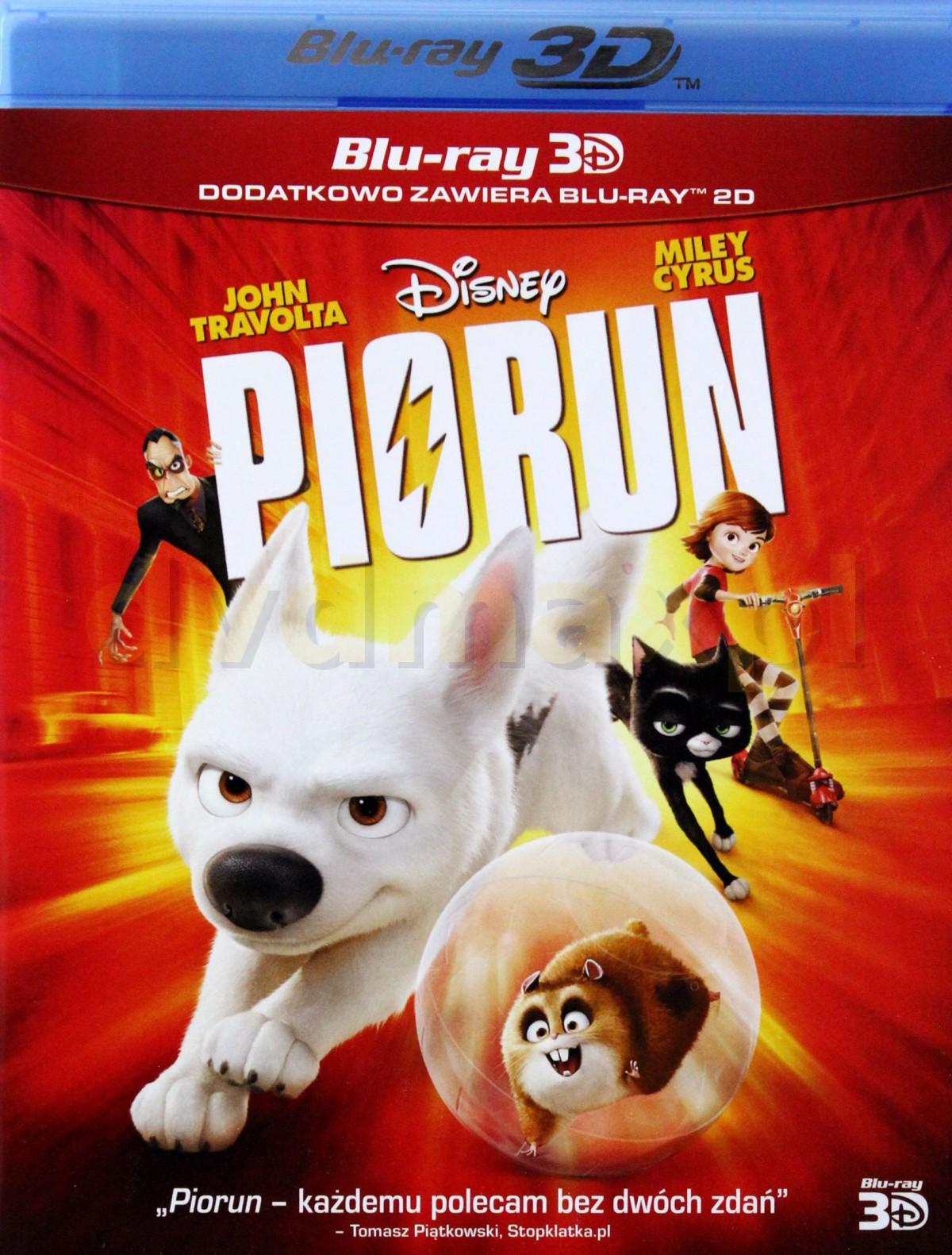 Piorun 3D (Disney) [Blu-Ray]+[Blu-Ray 3D]