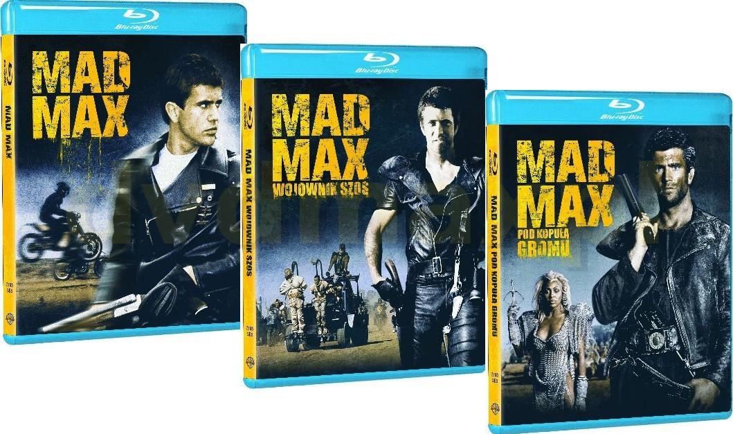 Mad Max Trylogia Pakiet [3xBlu-Ray]