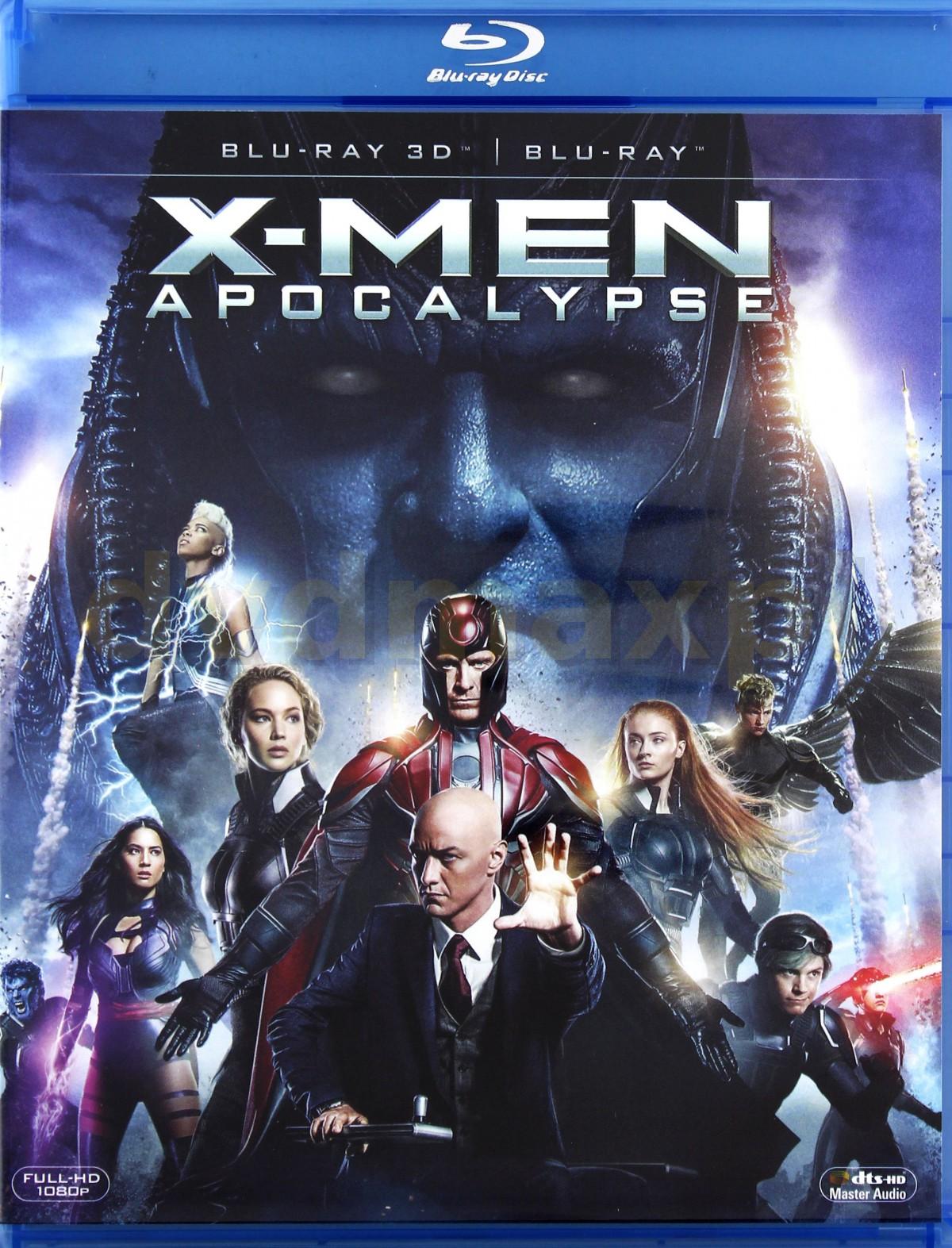 X-Men: Apocalypse [Blu-Ray 3D]+[Blu-Ray]
