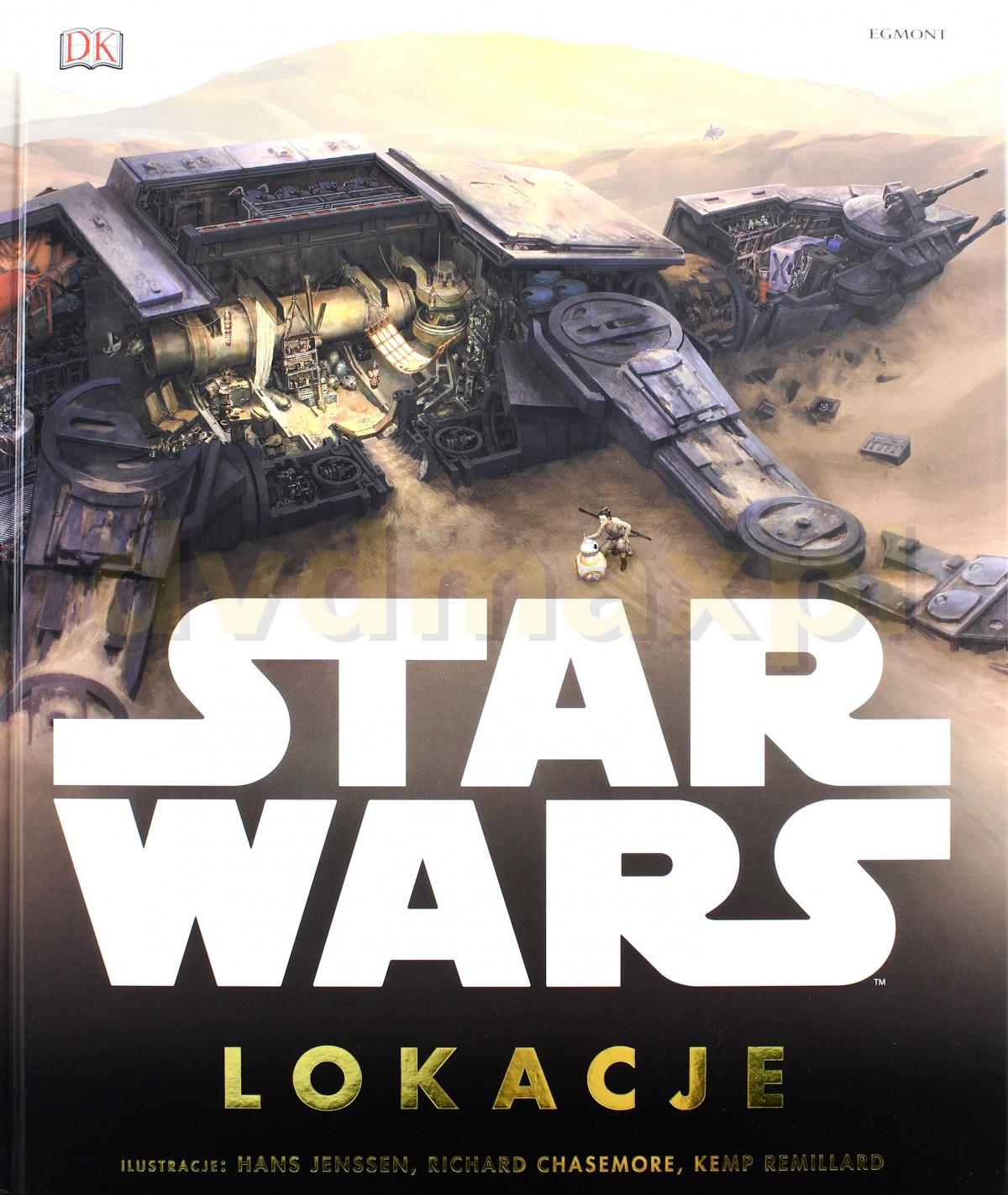 Lokacje Star Wars (Gwiezdne Wojny) [KSIĄŻKA] - Opracowanie zbiorowe