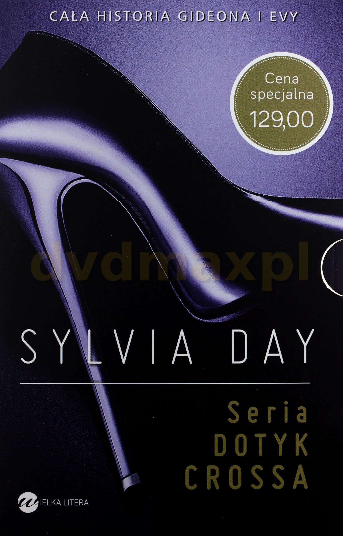 Cross Kolekcja 5 Tomów: Dotyk Crossa / Płomień Crossa / Wyznanie Crossa / Wybór Crossa / Tylko Cross [BOX] - Sylvia Day [KSIĄŻKA] - Sylvia Day