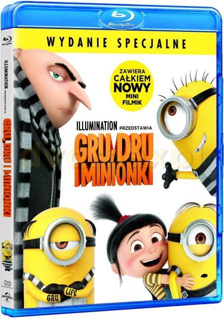 Gru, Dru i Minionki [Blu-Ray]