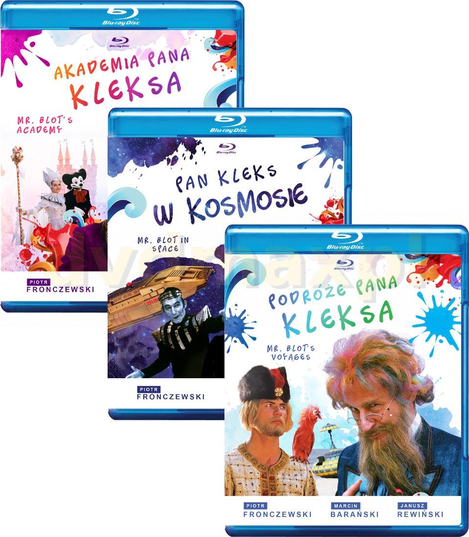 Akademia Pana Kleksa / Pan Kleks w kosmosie / Podróże Pana Kleksa Pakiet [3xBlu-Ray]