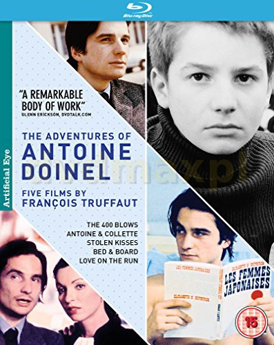 Adventures Of Antoine Doinel. 5 Films By Francois Truffaut [5xBlu-Ray]