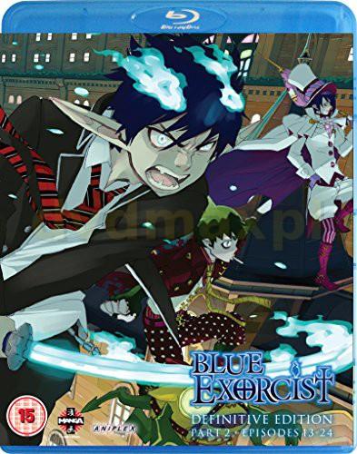 Blue Exorcist: (Definitive Edition Part 2 Episodes 13-25) [Blu-Ray]
