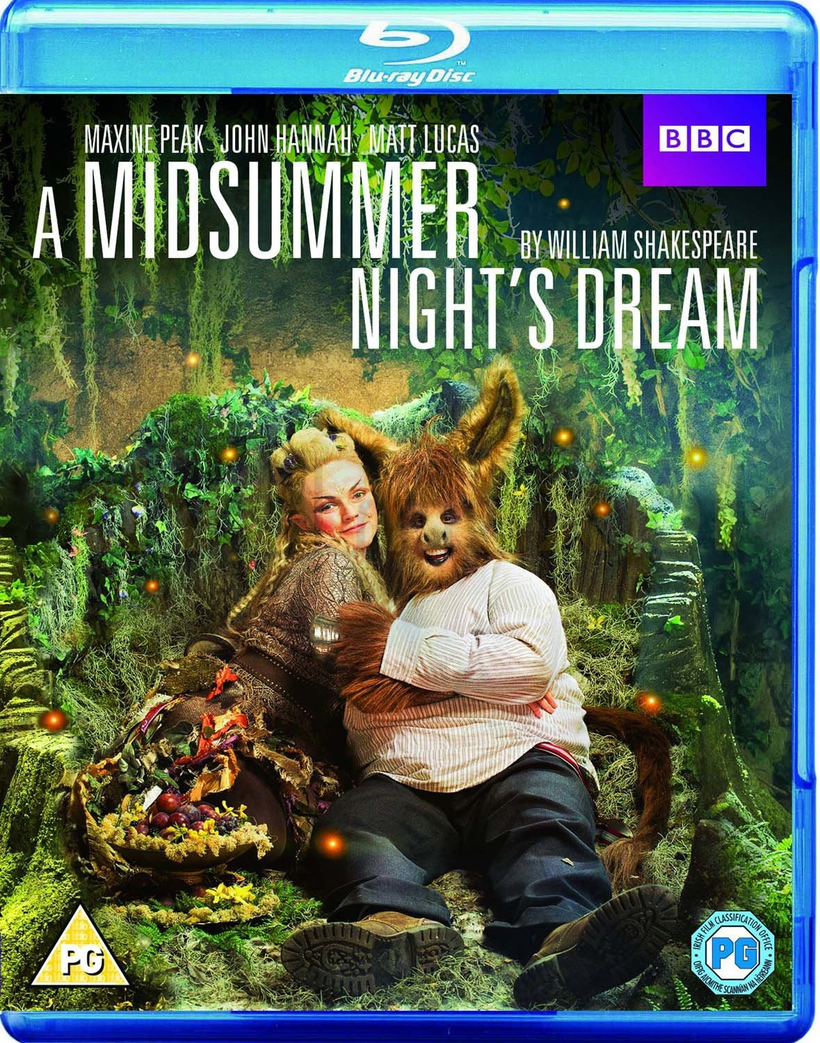 A Midsummer Nights Dream (Sen Nocy Letniej) (BBC) [Blu-Ray]