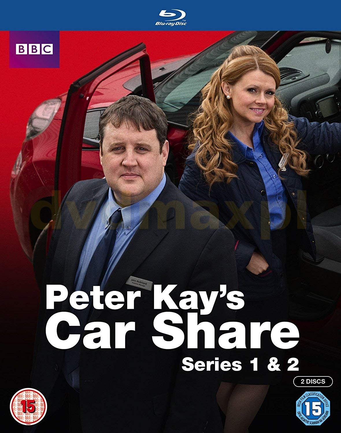 Peter Kay's Car Share Season 1 & 2 (BBC) [Blu-Ray]