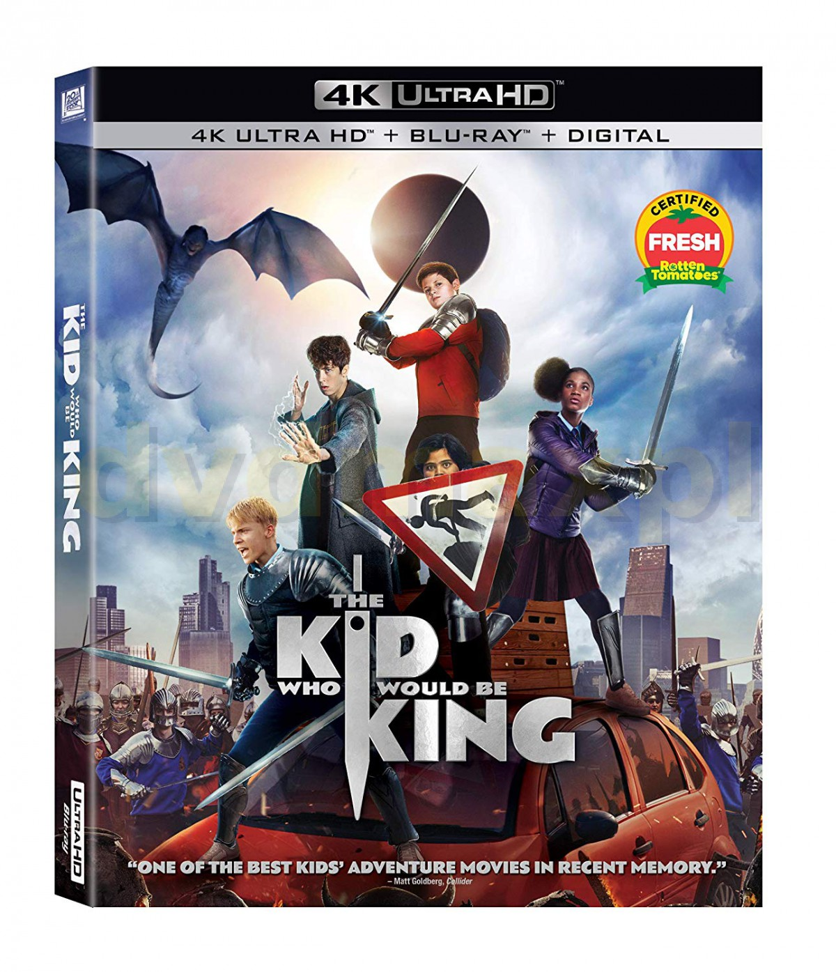 The Kid Who Would Be King (Dzieciak, który został królem) [Blu-Ray 4K]+[Blu-Ray]
