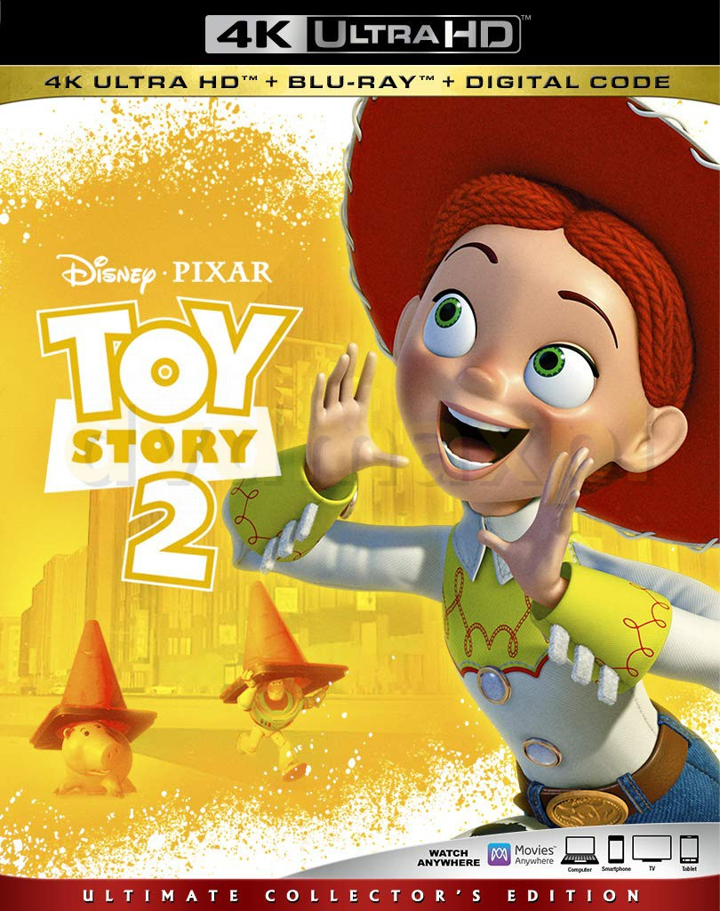 Toy Story 2 (Disney) [Blu-Ray 4K]+[Blu-Ray]