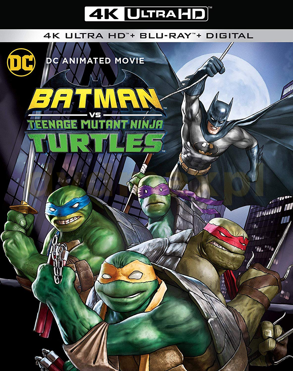 Batman vs. Teenage Mutant Ninja Turtles [Blu-Ray 4K]+[Blu-Ray]