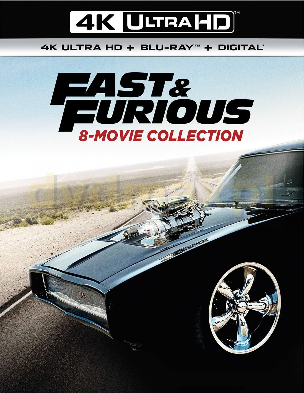 Fast & Furious 8-Movie Collection [8xBlu-Ray 4K]+[8xBlu-Ray]