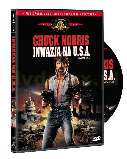 Inwazja na USA / Invasion U.S.A.  (1985)PAL PL DVD5-DVD4ALL