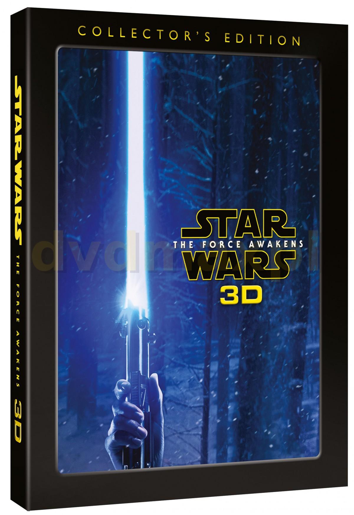 Star Wars The Force Awakens 3D (Gwiezdne wojny: Przebudzenie mocy) (Limited) [Blu-Ray 3D]+[2xBlu-Ray]