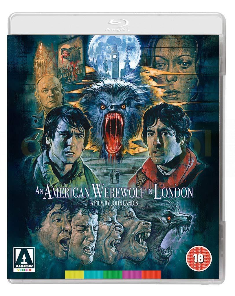 An American Werewolf In London (Amerykański wilkołak w Londynie) [Blu-Ray]