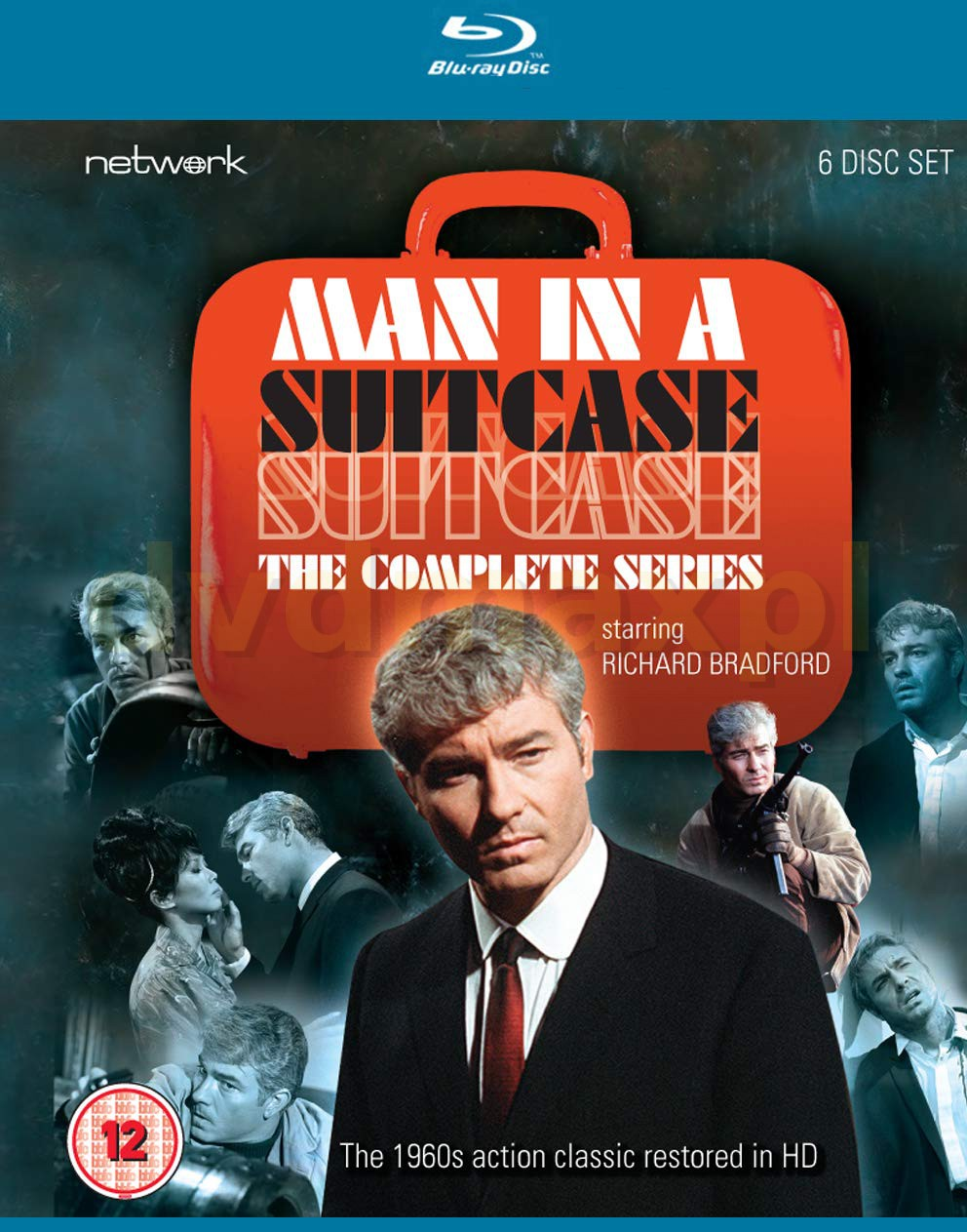 Man In A Suitcase: The Complete Series [6xBlu-Ray]