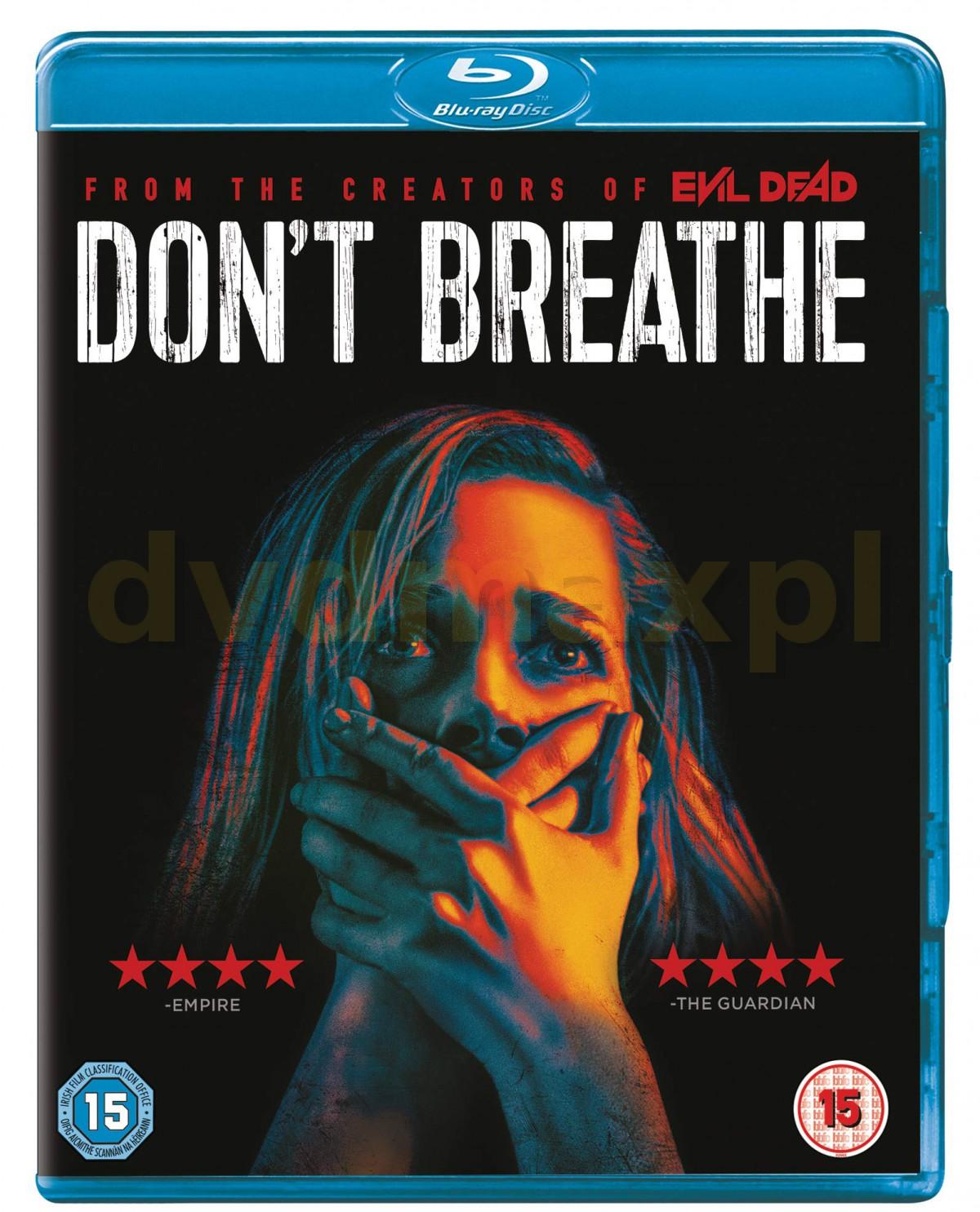 Don't Breathe (Nie oddychaj) [Blu-Ray]