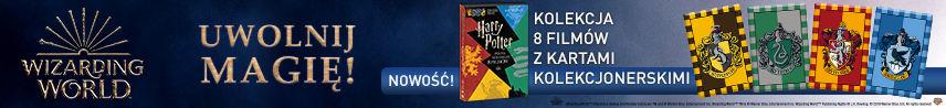 Harry Potter. Pełna Kolekcja 8 Filmów (Edycja Specjalna z kartami)