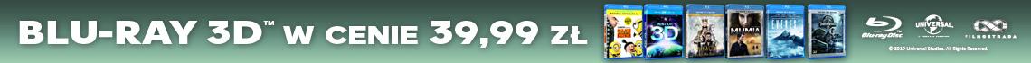Blu-ray 3D w cenie 39,99 zł