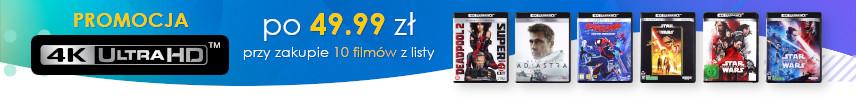 Wakacyjna promocja na filmy 4K Ultra HD!