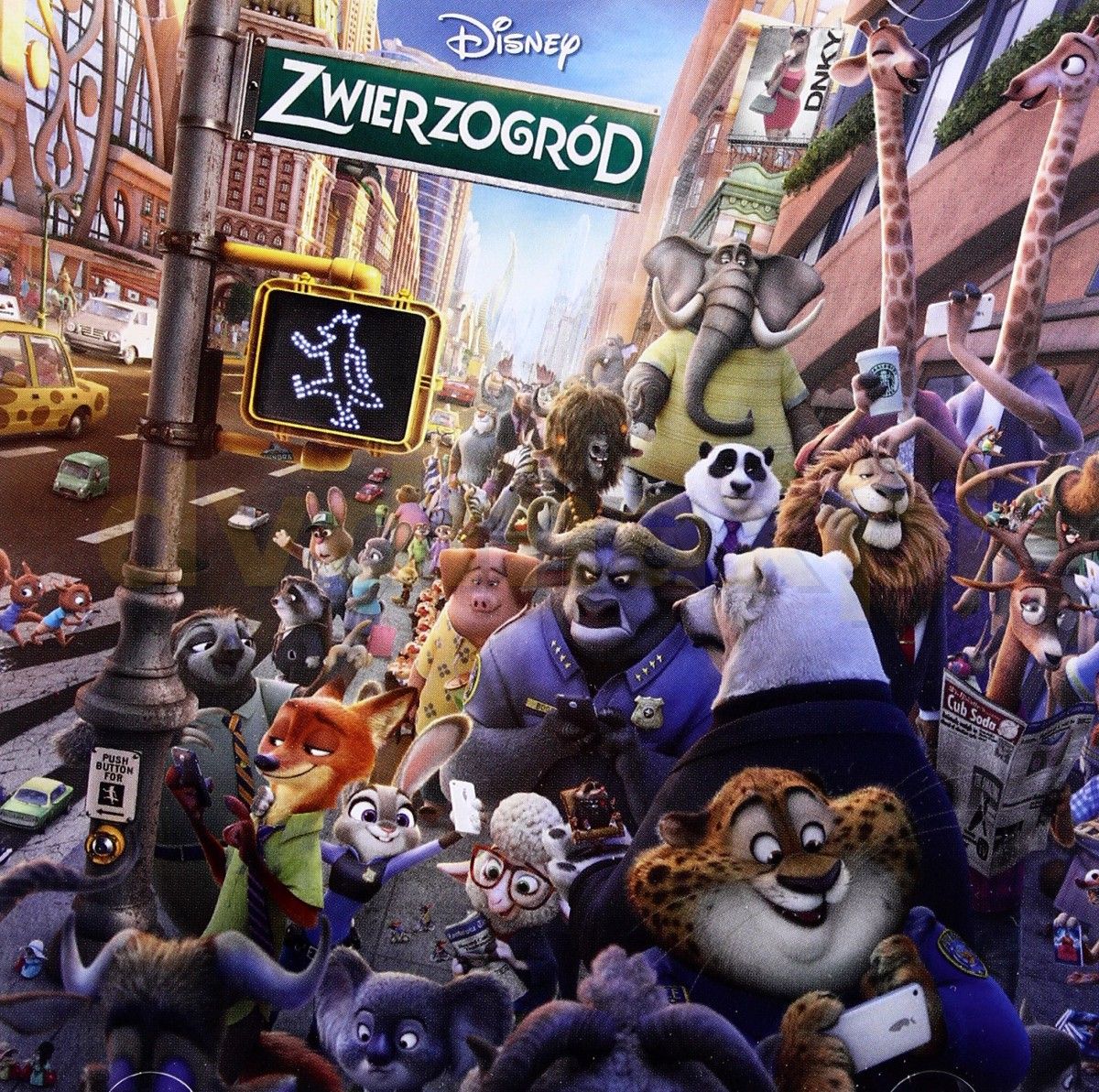 Zootopia Soundtrack (Zwierzogród) (PL) (Disney) [CD